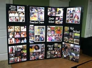 photo board ideas graduation display sle