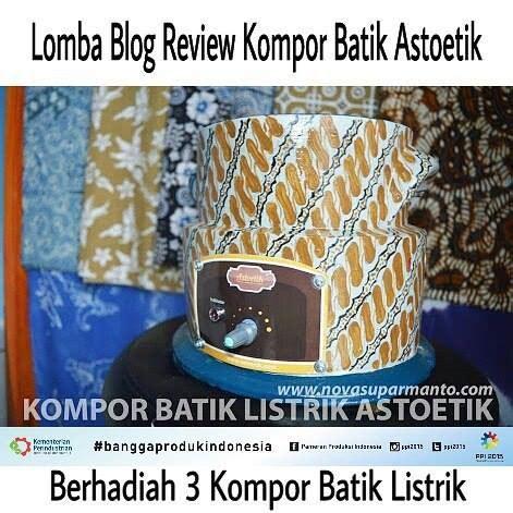 Kompor Listrik Batik august 2015 li partic