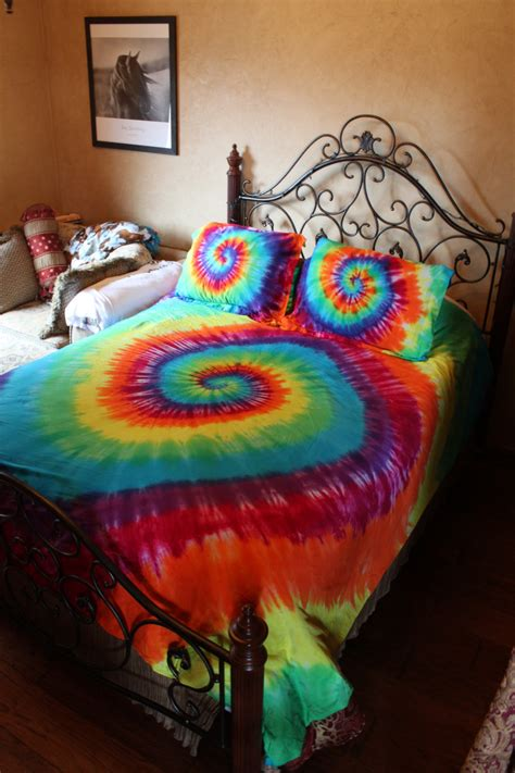 tie dye bedding queen tie dye duvet comforter cover set twin full queen or