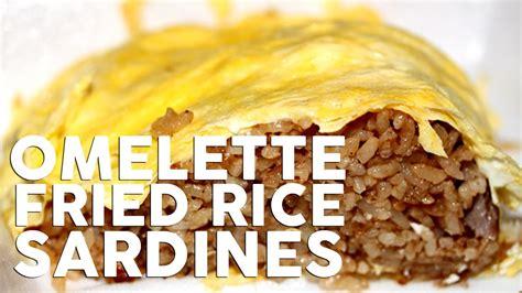 membuat omelete rice homemade omelette fried rice resep omelet nasi goreng