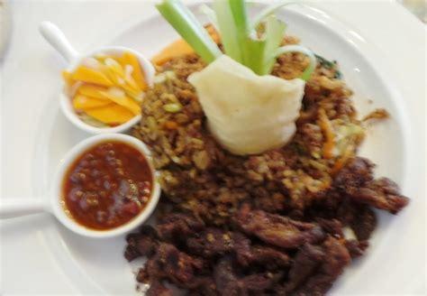 Nasi Cabe Hijau Ayam tempayan dining sedap enak nasi goreng kulit ayam dan cumi asin cabe hijau