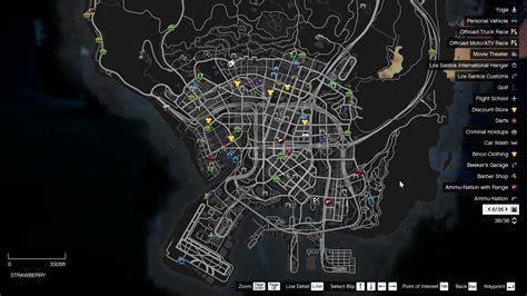 mod gta 5 map colored map blips gta5 mods com