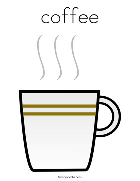 Coffee Mug Coloring Page Www Pixshark Com Images Coffee Cup Coloring Pages