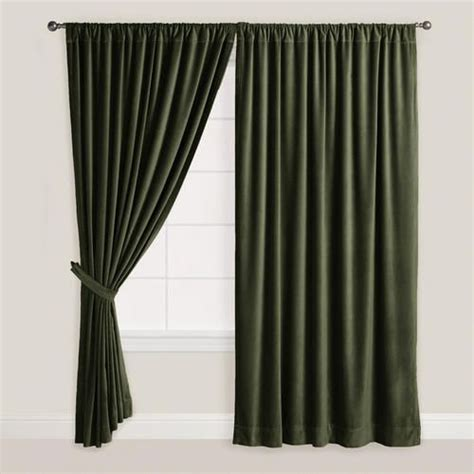green velvet curtains green velvet curtain fix it up pinterest