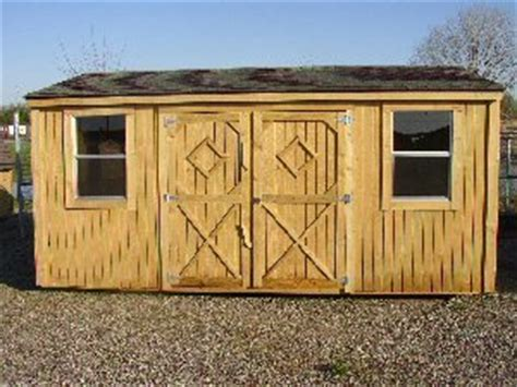 Sheds Wichita Ks by Garden Shed By Better Built Portable Storage Buildings