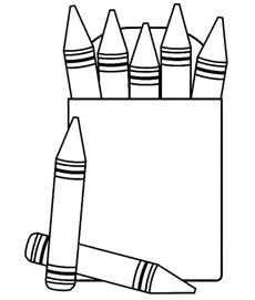 coloring crayons free coloring pages of crayon box