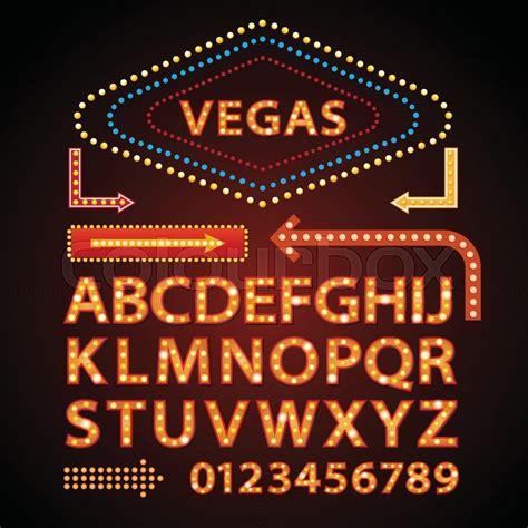 neon light letters font vector orange neon l letters font vegas light sign