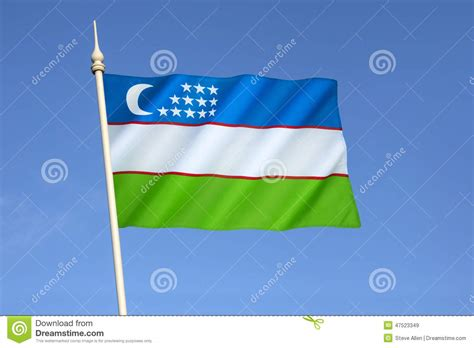 uzbek soviet socialist republic the countries wiki flag of uzbekistan stock image image of symbol places