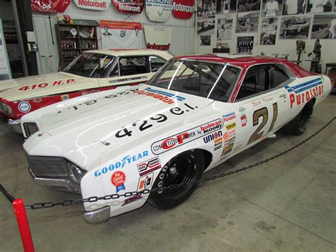 Take A Look At The History Of Nascar Through The Of Dale E Earnhardt Jr by Bangshift Wood Brothers Museum