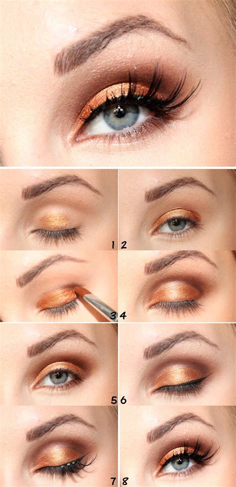 Eyeshadow Gold Tutorial 272 best images about prom makeup on pink