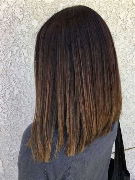 trendy everyday shoulder length hairstyles wome
