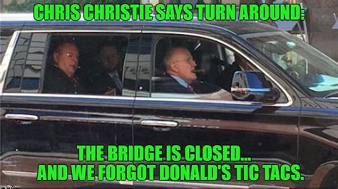 Limo Meme - rudy roger s tic tac run for donald imgflip