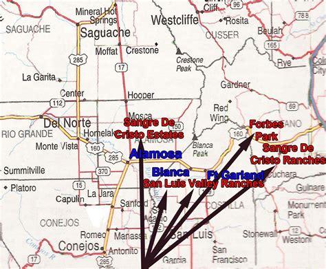alamosa colorado map colorado land 5 acres near alamosa low owner