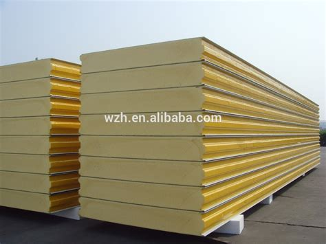 Panel Sandwich 50mm eps sandwich panel for floor plastic roofing sheet for shed new greenhouse roof panels