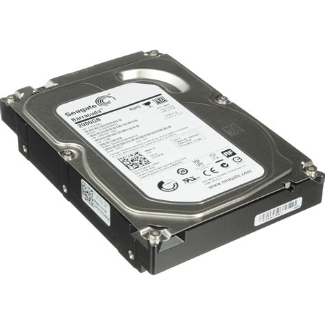 Hdd Seagate Barracuda 2tb Seagate 2tb Barracuda 3 5 Quot Desktop St2000dm001 B H