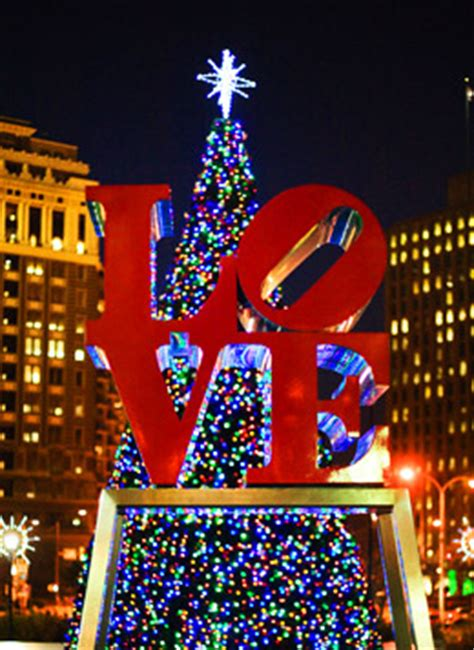 christmas tree lightings in philadelphia