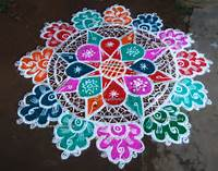 Beautiful Designs Of Rangoli  Images Guru