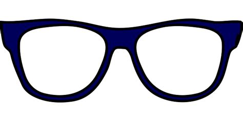 clipart occhiali glasses spectacles eyeglasses 183 free vector graphic on pixabay