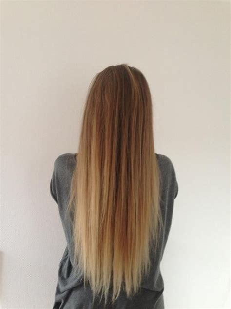 faded colour hairstyles the gallery for gt ombre straight hair back view