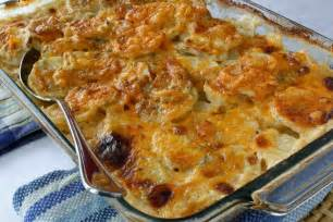 scalloped potatoes recipe with gorgonzola parmesan