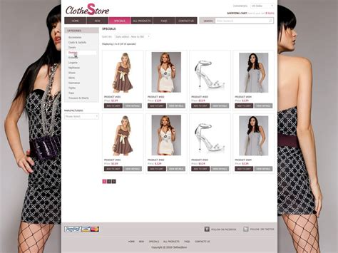 Fashion Website Template Free Shopping Website Templates Phpjabbers Fashion Website Templates