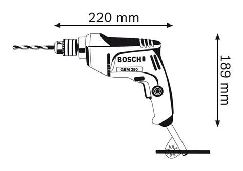 Bor Tangan 13mm Bosch bosch gbm 350 rotary drill 10mm 350w end 5 5 2018 2 15 pm