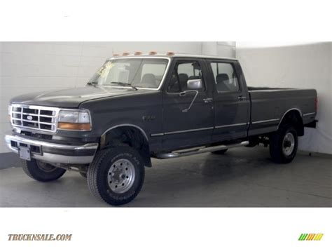 how cars engines work 1995 ford f350 lane departure warning 1995 ford f350 xlt crew cab 4x4 in smoke metallic photo 2 a12520 truck n sale