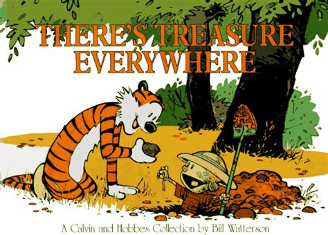 it s a magical world a calvin and hobbes collection there s treasure everywhere the calvin and hobbes wiki