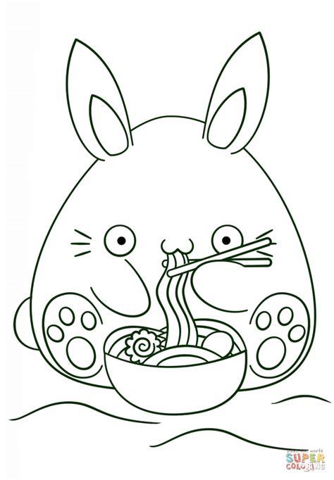 chibi bunny coloring pages coloriage lapin kawaii coloriages 224 imprimer gratuits