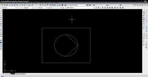 autocad 2007 tamil tutorial autocad 2007 user interface telugu tutorial 1 cad cam