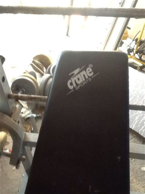 bench more weight crane weight lifting bench inc more weights for sale in glasnevin dublin from wwwsinead54