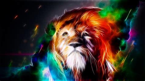 wallpaper colorful lion trippy lion wallpaper wallpapersafari