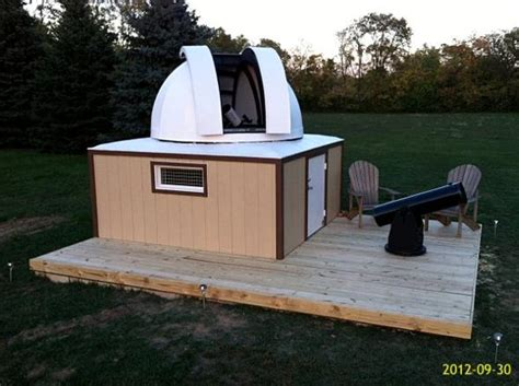 backyard observatories backyard astronomy domes diy page 3 pics about space