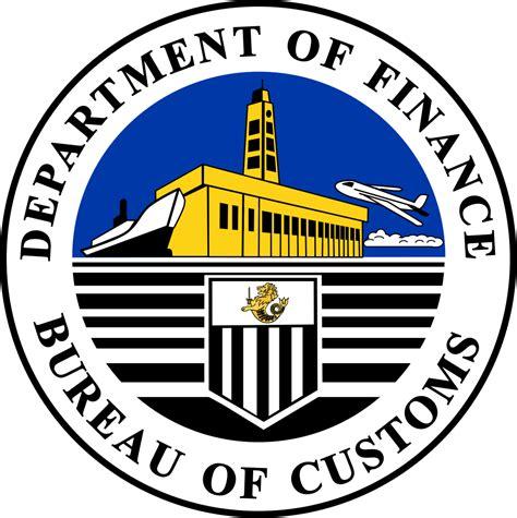 bureau of finance file bureau of customs svg