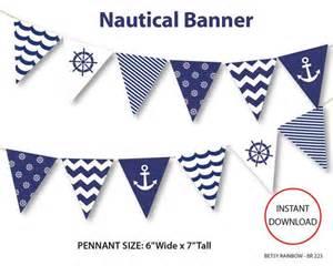 nautical banner template nautical banner printable banner nautical diy