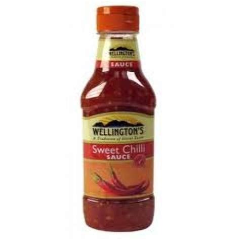 Wellingtons Sweet Chili Sauce 375g