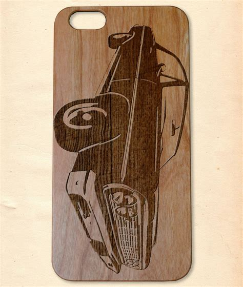 Handmade Wooden Iphone Cases - chevrolet impala handmade wooden cover for iphone 6
