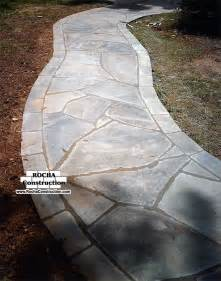 How To Lay A Brick Patio Yourself How To Install Flagstone Patio On Concrete Modern Patio