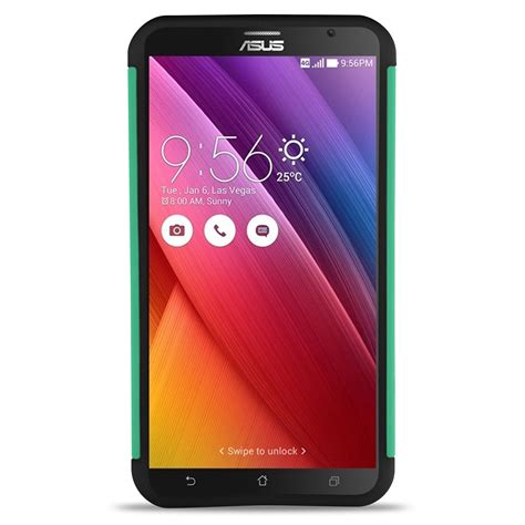 Asus Zenfone 3s Max 5 2 Hybrid Armor Kickstand coveron 174 for asus zenfone 2 5 5 quot hybrid bling protective cover ebay