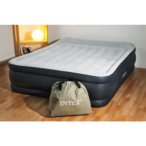 intex rest bed deluxe 67738 matelas 233 lectrique