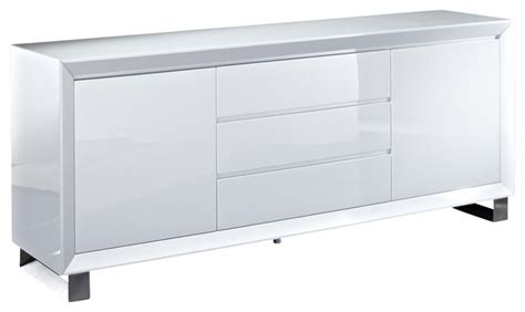 white high gloss buffet quot creative furniture quot alexia white high gloss buffet