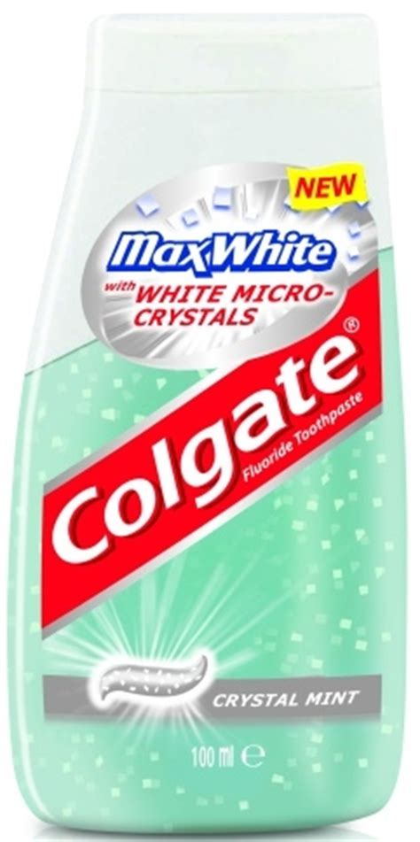 Pasta Gigi White Max colgate max white mint pasta do z苹b 243 w w p蛯ynie