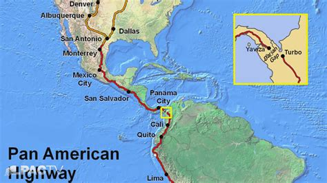 map of the pan american highway the extended nawapa engineering the biosphere