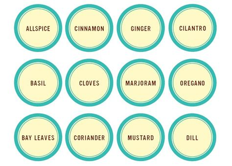 13 best food label templates images on pinterest label