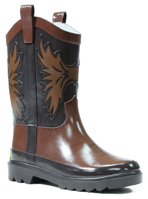 western chief boots western chief toddler boy s western cowboy brown boot