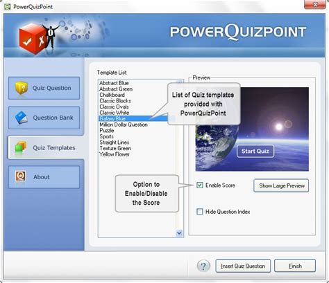 flash quiz template adobe flash quiz template