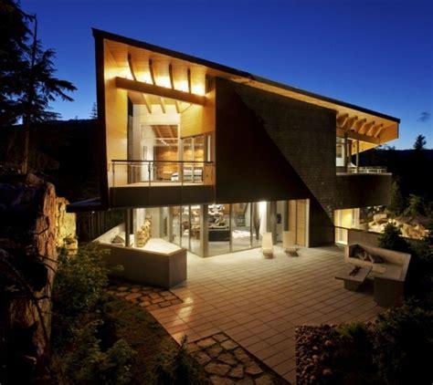 Inspired By Whistler Bc Mountain Home Decor Haus Im Wald Verbindet Traditionellen Baustil Und Moderne