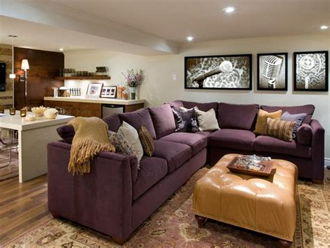 basement furniture layout ideas after finished basement remodeling ideas
