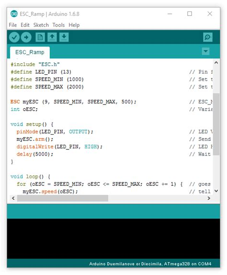 arduino code library rc speed controller esc arduino library robotshop blog