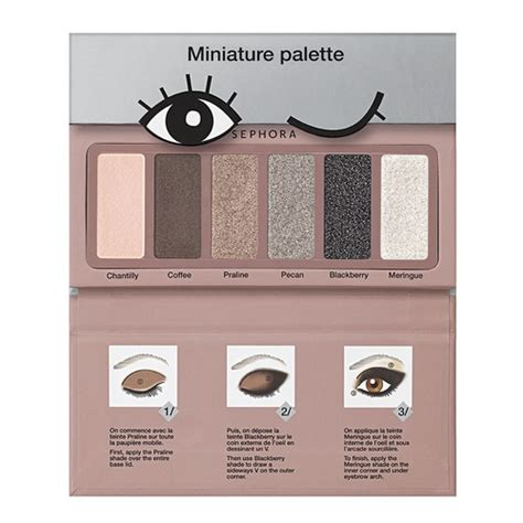 Sephora Mini Bag Palette makeup palette tutorial wonders of colour sephora